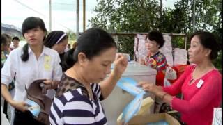 Lễ Đặt Viên Đá Đầu Tiên Tại Nhà Thờ Công giáo Đức Mẹ Lavang Cần Giuộc