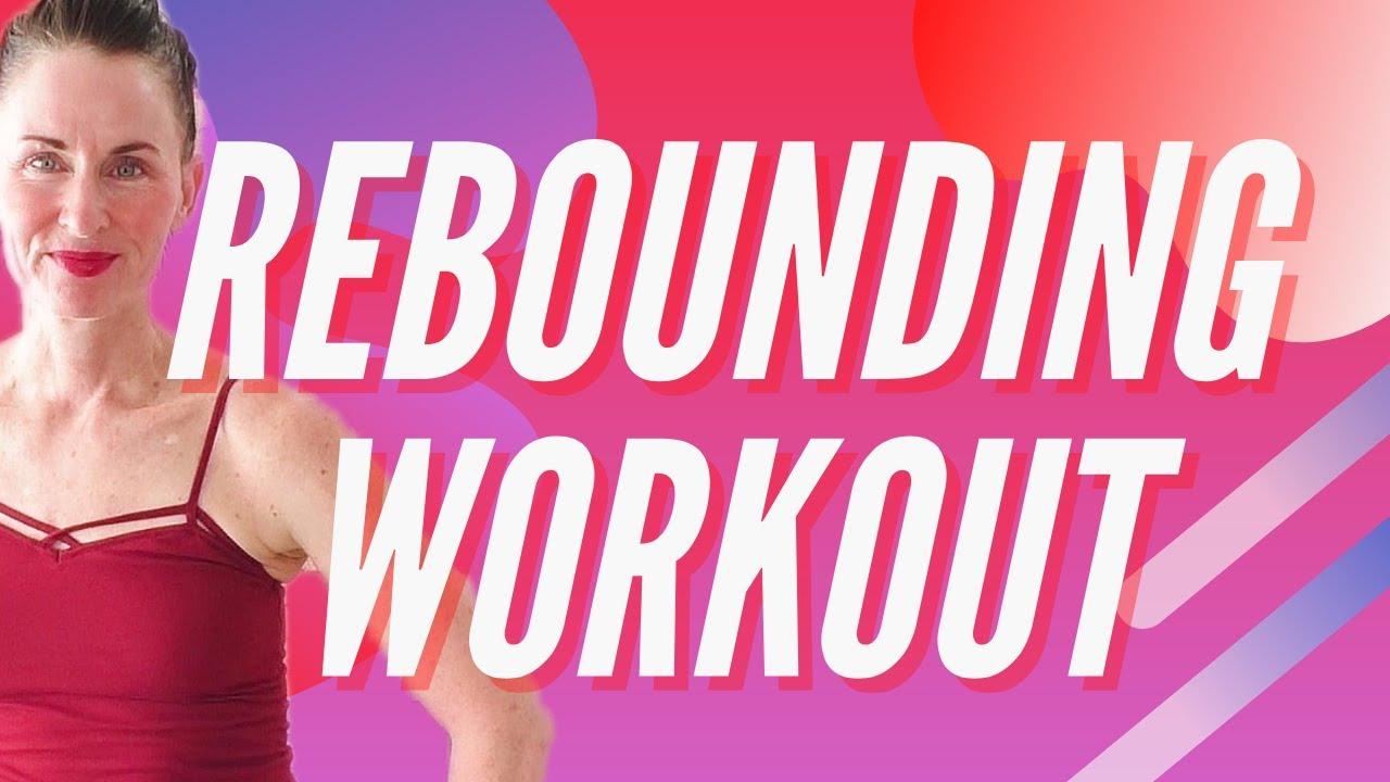 Beginner Rebounding Workout |Rebounder for Weight Loss ...