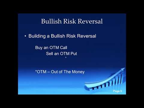 """Options for Intermediates (7):  Long Risk Reversal With Eric  """"The Wolfman""""  Wilkinson"""