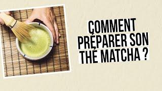 Préparer un thé matcha avec AROMANDISE