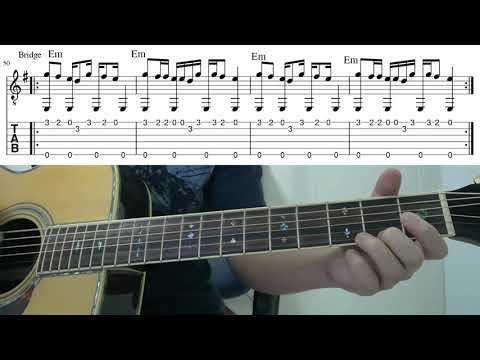 Counting Stars (OneRepublic)  - Easy Fingerstyle Guitar Playthrough Tutorial Lesson With Tab