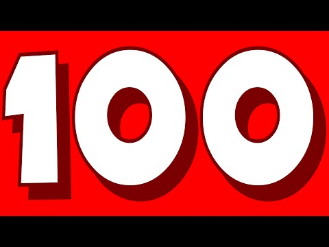Number Song | Big Number Song Rhyme | 1-100 song