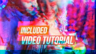 After Effects Template | Royalty Free | Party Promo Slideshow