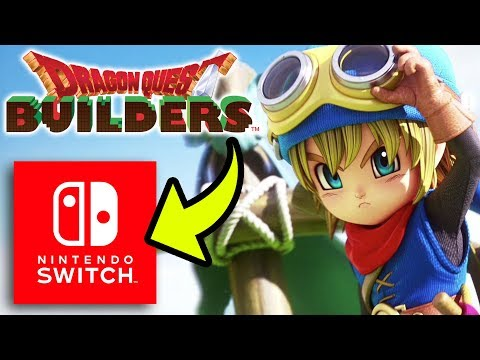 Dragon Quest Builders | 1-Hour Livestream Preview on Nintendo Switch!
