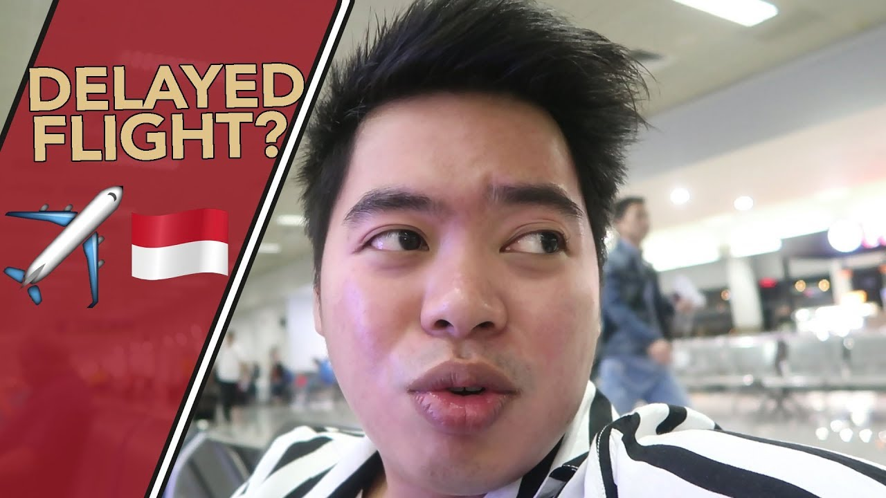 FIRST SOLO FLIGHT! (DELAYED FLIGHT TO INDONESIA)
