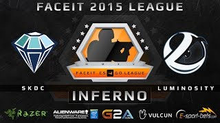 SKDC vs Luminosity - Inferno (FACEIT 2015 League)(Play on FACEIT for free: http://www.faceit.com FACEIT on Twitter: http://www.twitter.com/faceit FACEIT on Facebook: https://www.facebook.com/FaceitCommunity ..., 2015-04-03T13:58:03.000Z)