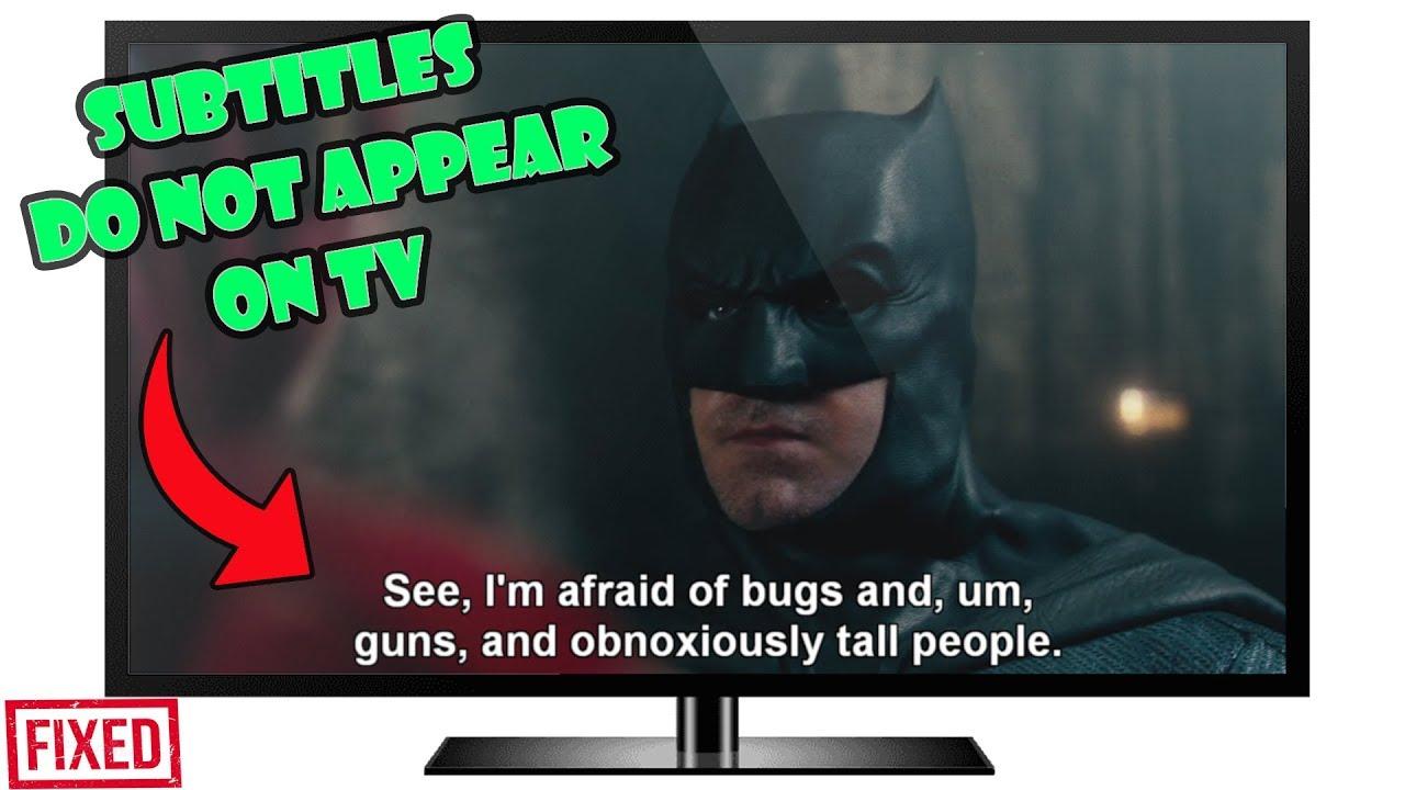 samsung smart tv captions