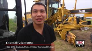 United Tribes Commercial Drivers License (CDL)/Heavy Equipment Operator (HEO) Program