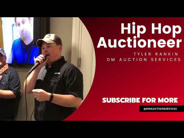 Hip Hop Auctioneer Can Bring In the Dough