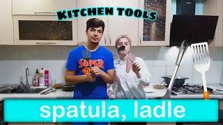 Kitchen tools  Лавозимоти ошхона  Кухонные принадлежности