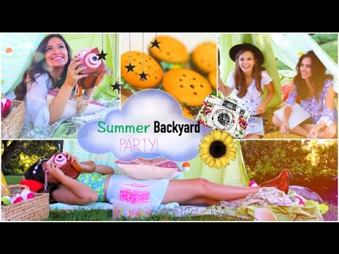 Summer Girls Night Party!   DIY Treats, Outfits, Decorations + more