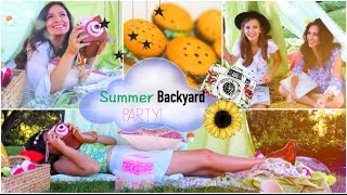 Summer Girls Night Party! | DIY Treats, Outfits, Decorations + more Thumbnail