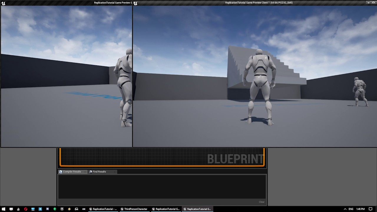 Ue4 blueprint tutorial basic event replication youtube ue4 blueprint tutorial basic event replication malvernweather Gallery