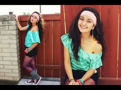 Last Minute DIY 80s Halloween Costume♡ - YouTube