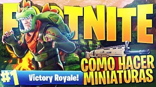HOW TO MAKE FORTNITE THUMBNAILS FOR YOUR 2018 VIDEOS! FORTNITE MINIATURE PACK!