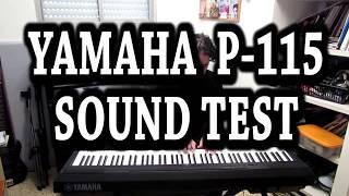 Yamaha P-115 Piano Sound Test