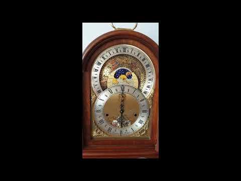 Christian Huygens Triple Chime Mantel Clock Planisphaerium Automaton With Day Date M