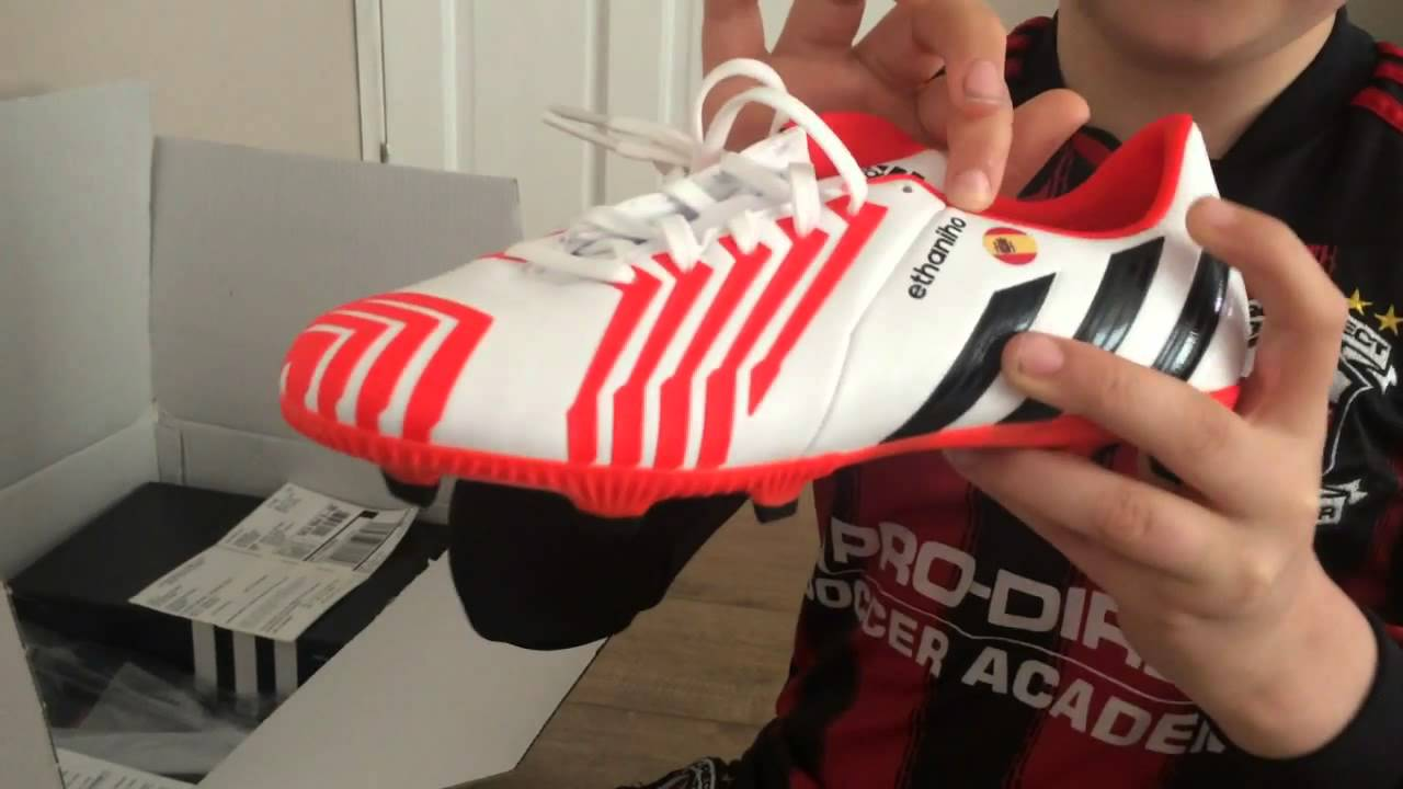 f8525ae58d80 ... netherlands adidas predator absolado instinct white solar red unboxing  ethaniho style youtube 82906 e8756