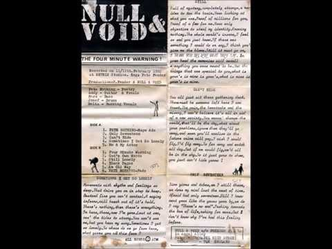 Null And Void - demo cassette - 1982