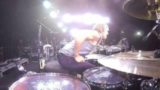 drum solo from nissan stadium yokohama japan 2013