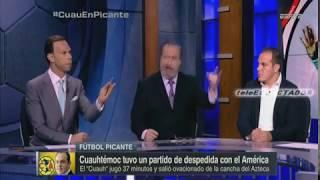 Cuauhtemoc Blanco le reclama a Ricardo Pelaez no dejarlo retirarse del America como queria - Fut Pic