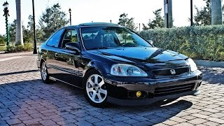 Let's Take A Ride: Richard's Type-R Swapped Civic Si (EM1)