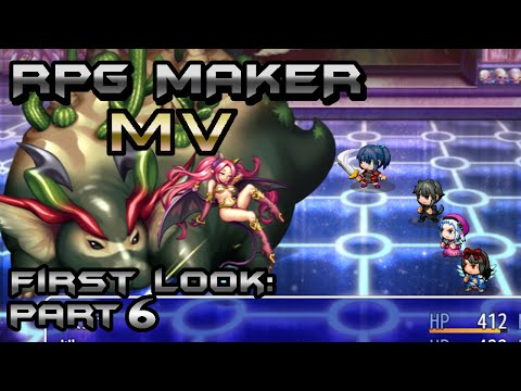 RPG Maker MV First Look 6: Music and Graphics
