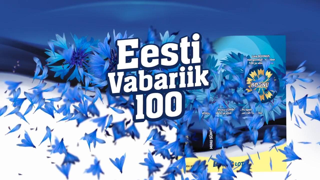 82af21f139c Eesti Loto - Kiirloto Eesti Vabariik 100