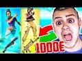 1000€ ZUFÄLLIGE SKIN (Wette) in Fortnite!