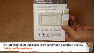 G-TING easyFLASH USB Flash Drive For iPhone & Android Review