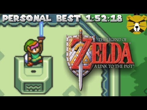 Zelda: A Link to the Past: Personal Best! 1:52:18