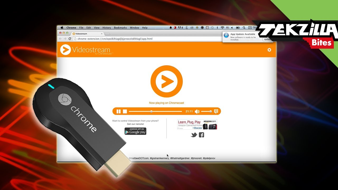 Play nearly any video on your Chromecast using this browser