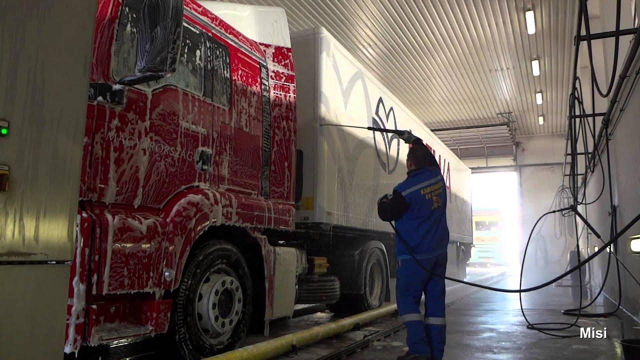 Truck Wash Hungary Youtube