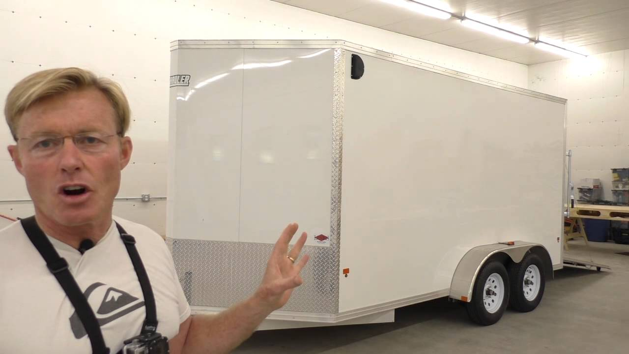 Building A Mobile Woodshop Part 2 What Trailer Will The