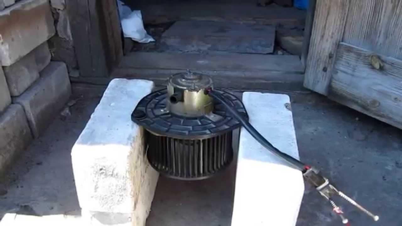 Работа вентилятора печки ВАЗ 2110