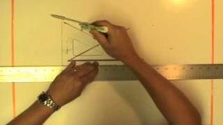 Bisect a Line Segment - Triangle Method