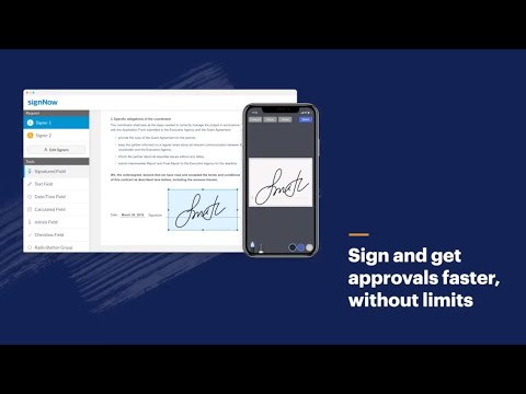 See signNow eSignatures in Action