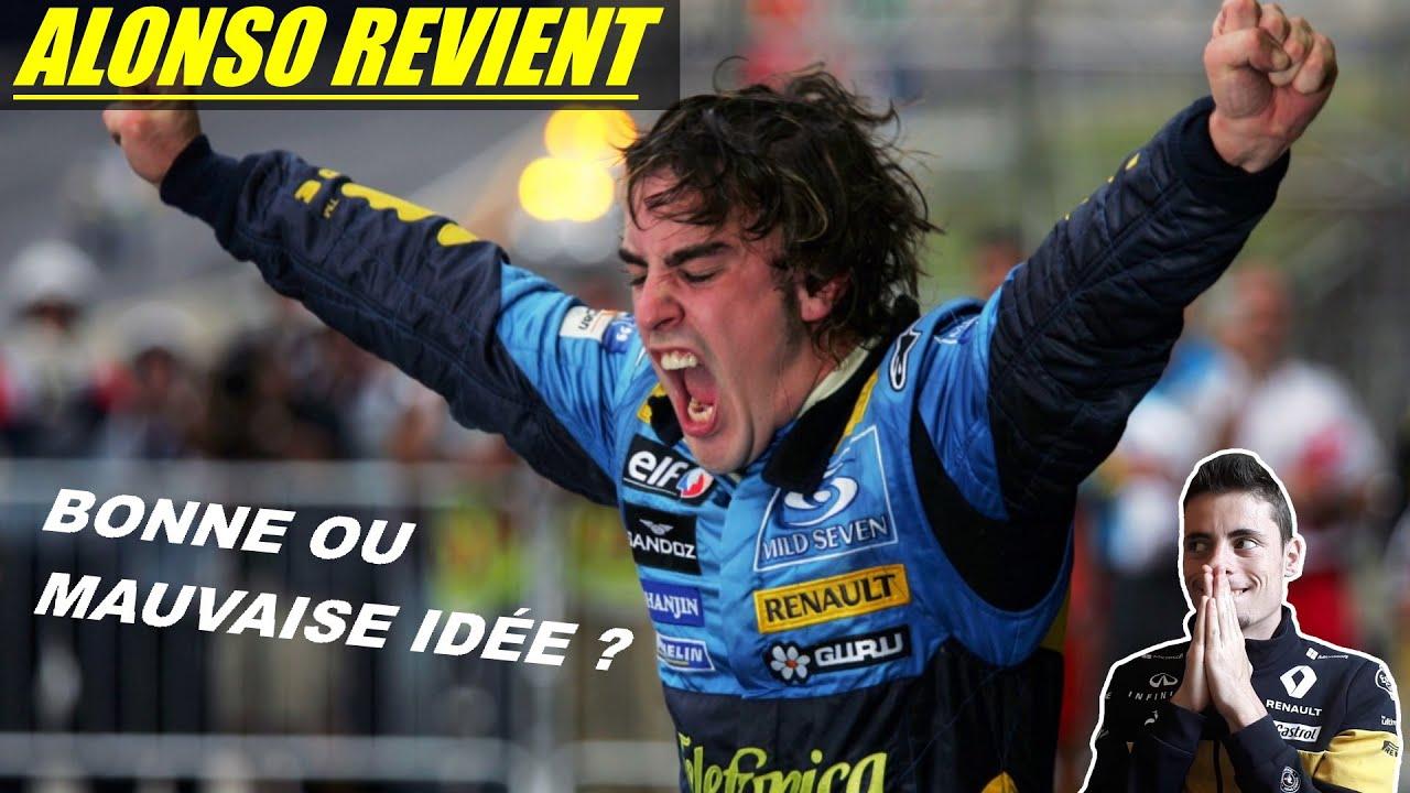 ALONSO REVIENT EN F1 !