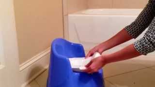ToddleGreen Flushable Potty Liners