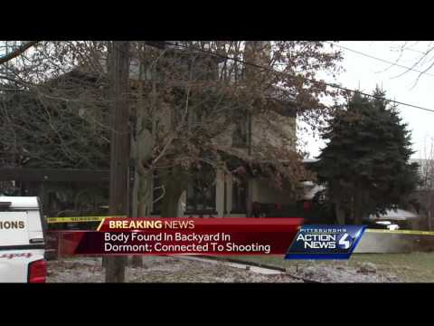 Dormont homeowner lets dog out, finds body of shooting victim