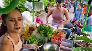 คลิปดังในอดีต ยุคซาเล้งHot สุดขีด #เจ้เบียร์คนละยำ ป้ากบเพื่อนรู้ใจ Raw spicy seafood Salad Thailand