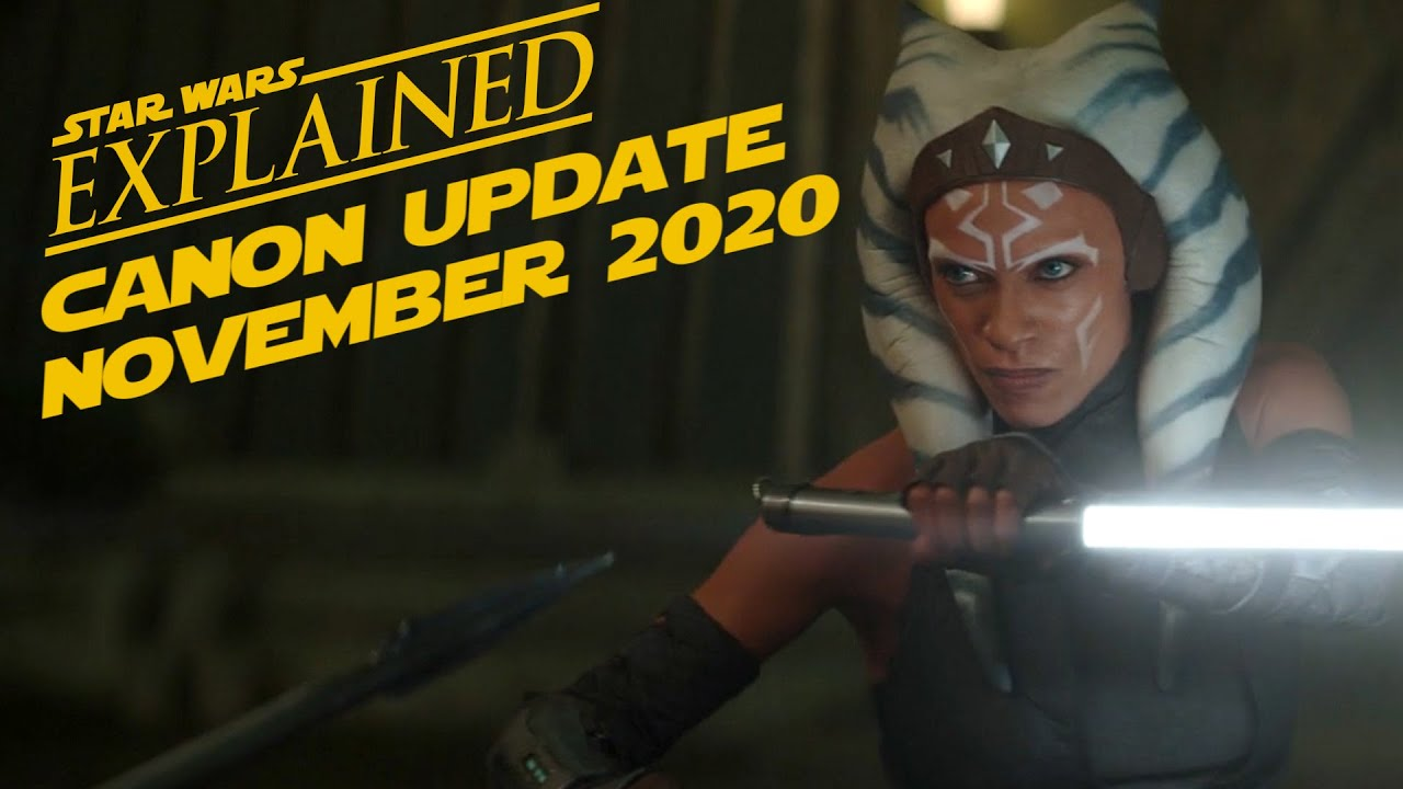 November 2020 Star Wars Canon Update