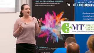 Three Minute Thesis '18, Michelle Holmes | University of Southampton