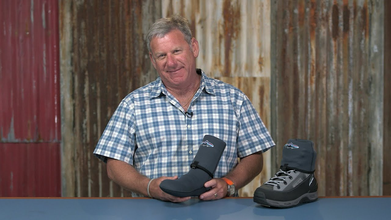 Patagonia Fly Fishing Neoprene Socks With Gravel Guard
