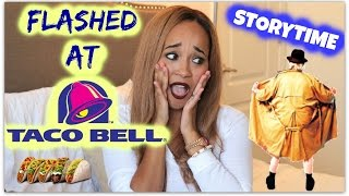 STORYTIME: CRAZY STALKER & FLASHED AT TACO BELL! | Kym Yvonne
