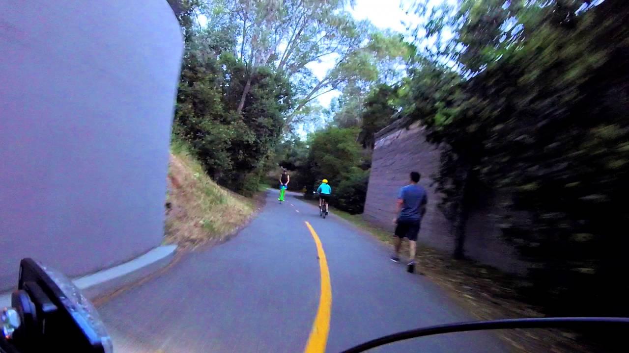 Bikingwithbliss When I Encounter A Pogo Commuter Youtube