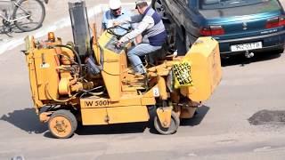 ремонт дороги у Червонограді по вул. С. Бандери