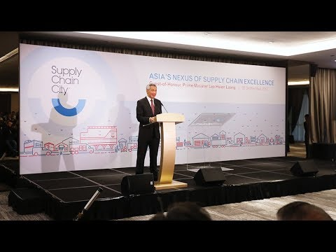 Official Opening of YCH Supply Chain City