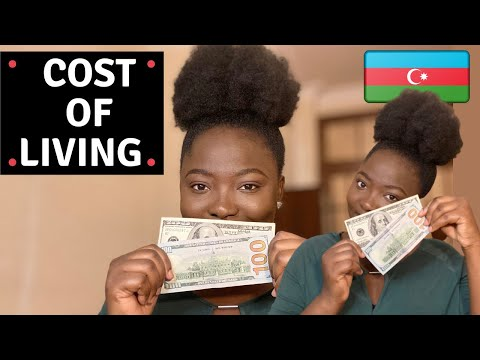 Cost of living in Azerbaijan Baku