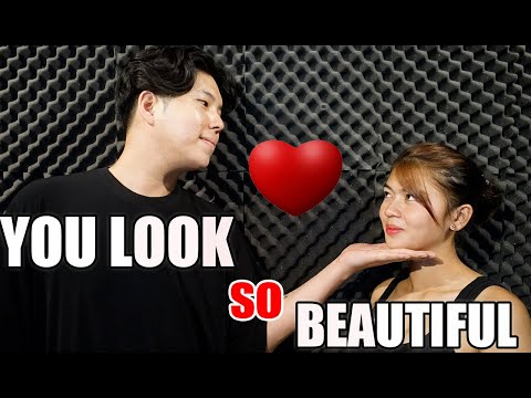 YOU LOOK SO BEAUTIFUL IN WHITE  COVER BY LEXI & JAY - SY MUSIC [KAT MARIANO LEXI & MARGEL]